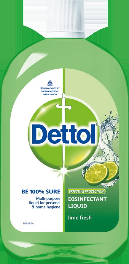 Dettol Disinfectant Liquid Lime Fresh
